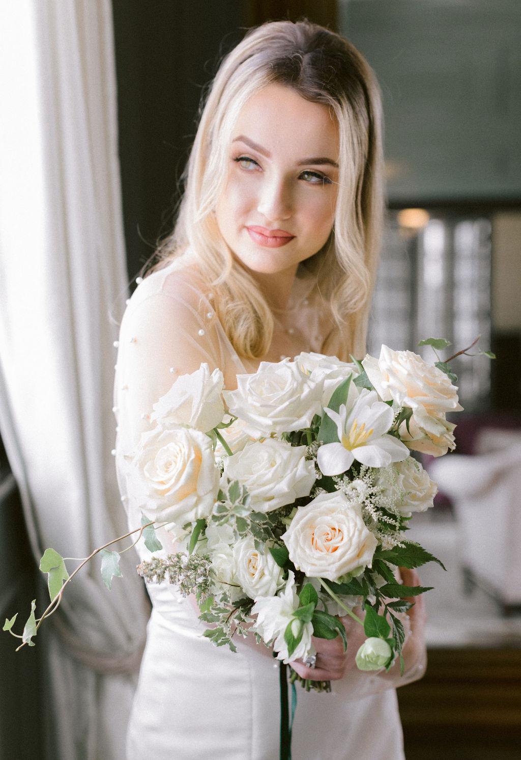 Bridal fashion: Elegant Dallas Wedding Inspiration at The Mason featured on Alexa Kay Events