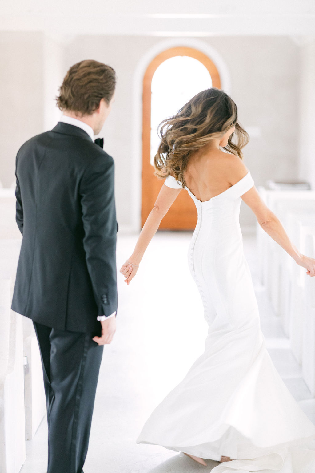 White and Greenery Wedding at The Emerson by Alexa Kay Events