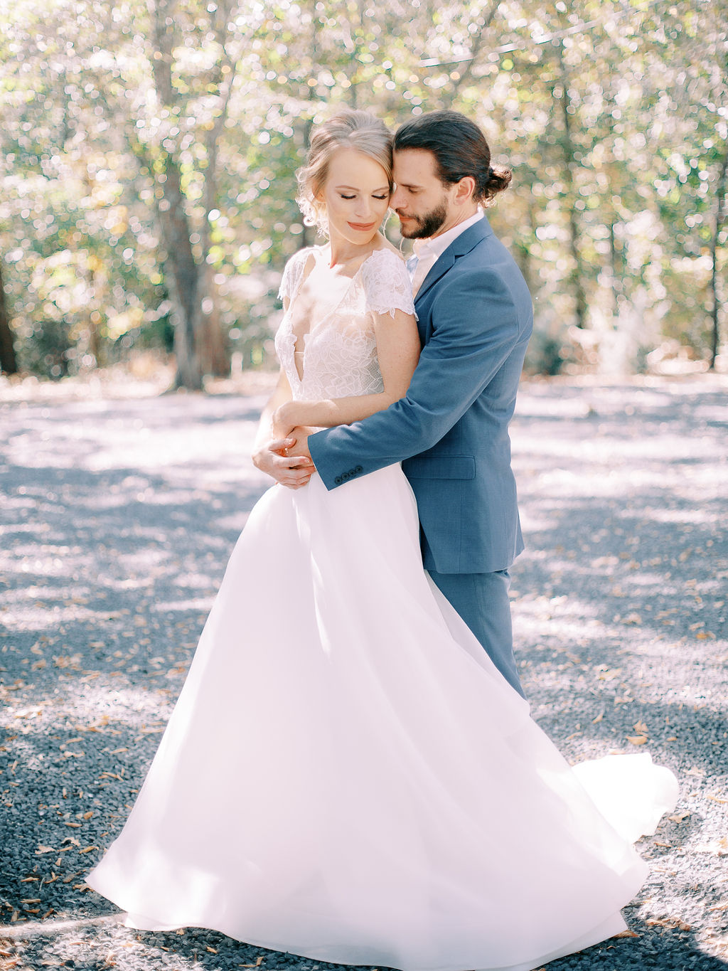 Wedding attire: Ethereal Wedding Inspiration at The White Sparrow