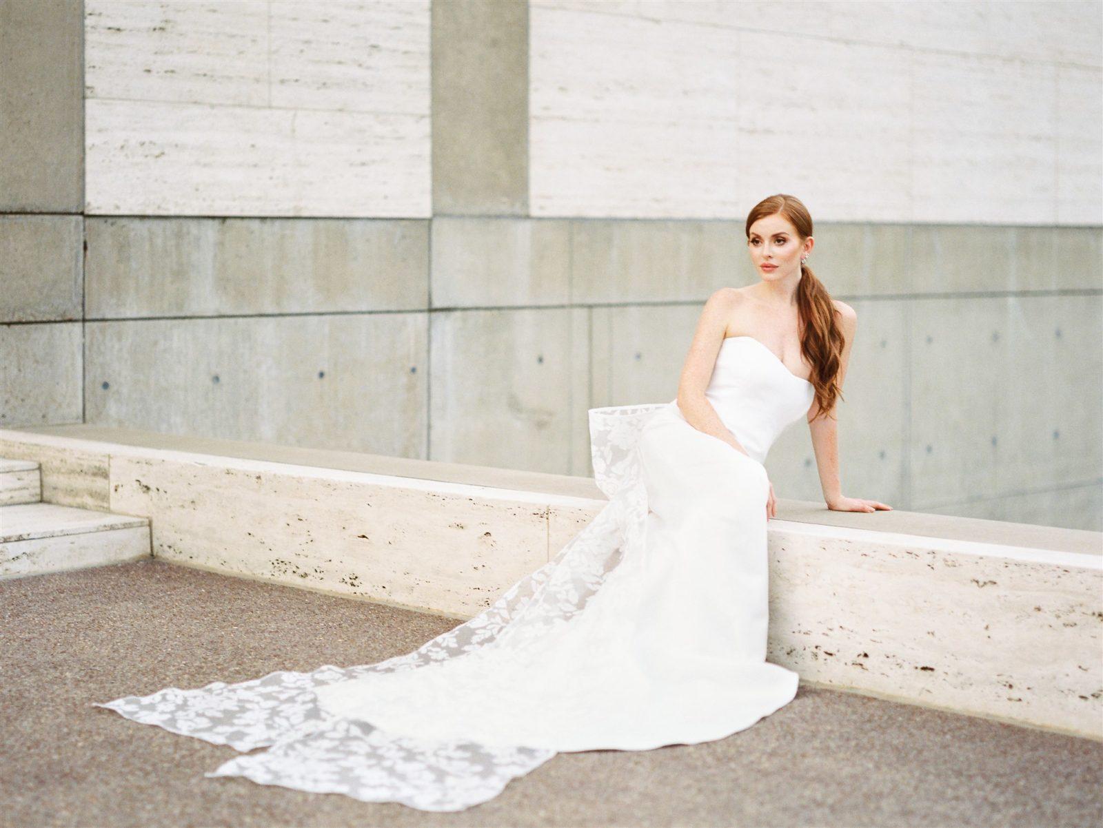 Sareh Nouri Lace Wedding Dress