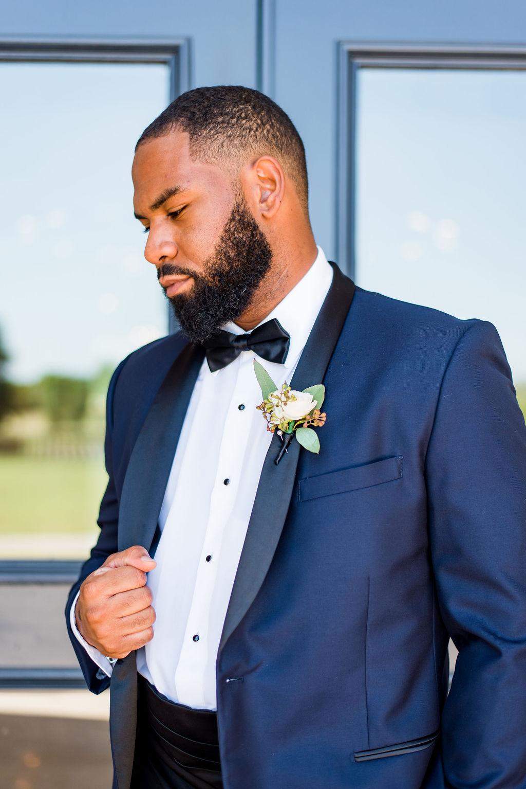 Blue Minsky Formal Wear Tuxedo