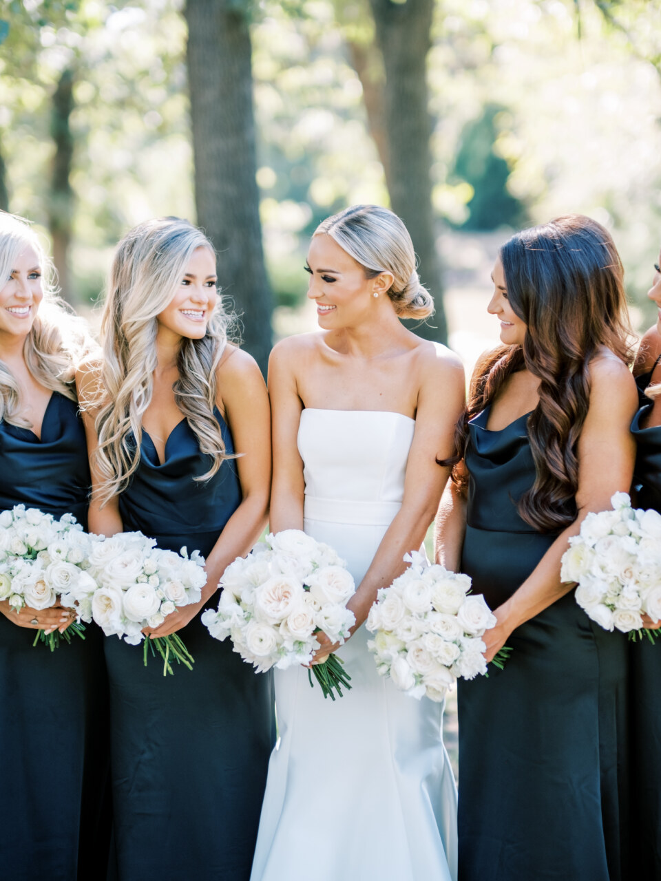 Black Bella Bridesmaid Dresses | Alexa Kay Events