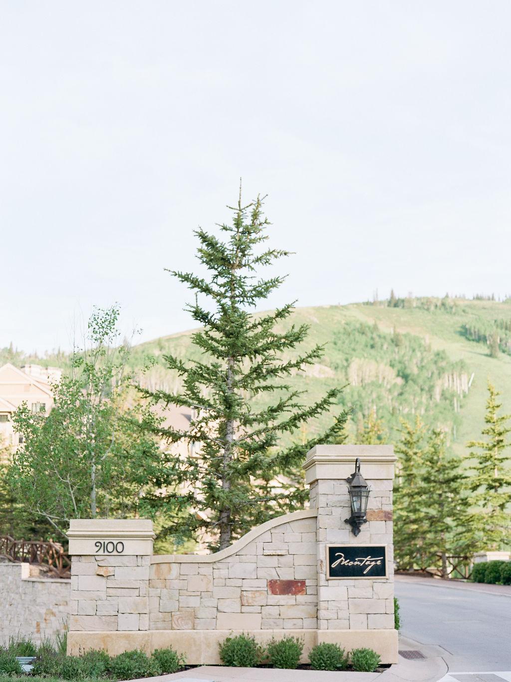 Park City Wedding Venue: Montage Deer Valley