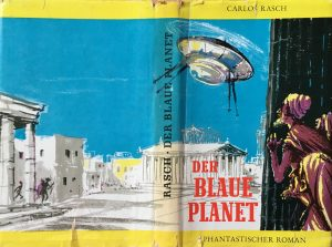 """Der blaue Planet"" - Carlos Rasch - Buchcover - Illustration: Hans Räde"