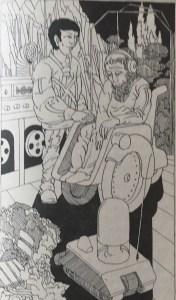 Das kleinere Weltall - Fool On The Hill - Karsten Kruschel - Illustrationen: Dieter Heidenreich
