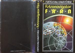 Astronavigator Färn - Schutzumschlag - Swetoslaw Slawtschew - Illustrator: Ludwig Winkler