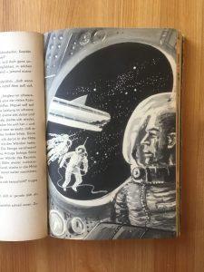 Ein Stern fliegt vorbei - Buchillustration - Karl-Heinz Tuschel - Illustrator: Hans Räde