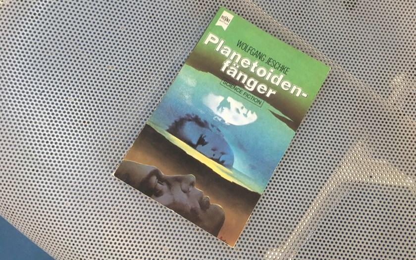 Planetoidenfänger - Wolfgang Jeschke (Herausgeber) - Buchcover - Illustration: C.A.M. Thole für Atelier Heinrichs, München
