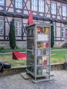 Bücherzelle in Goslar