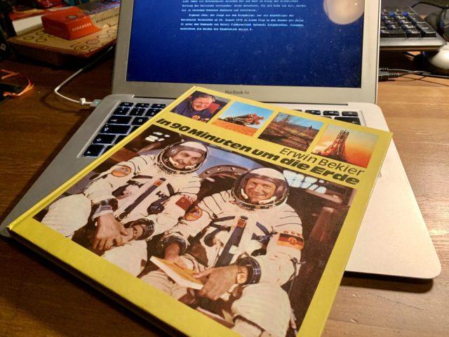 In 90 Minuten um die Erde - Erwin Bekier - Buchcover