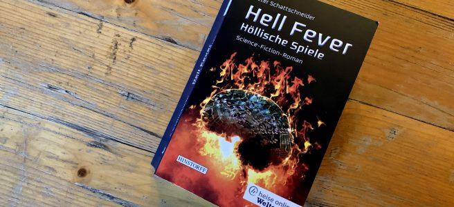Hell Fever - Höllische Spiele - Peter Schattschneider - Buchcover