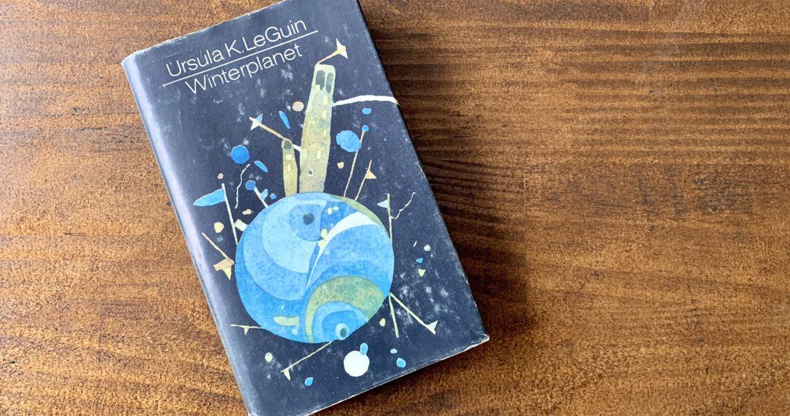 Winterplanet - Ursula K. LeGuin - Buchcover - Entwurf: Horst Hussel