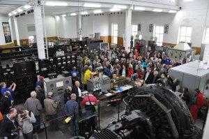 Many visitors at the Alexanderson day 12:00 UTC transmission