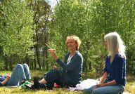 """Mai 2013 mit Zoana und Christine - """"Lass es dir schenken."""""""