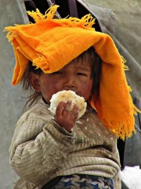Tibetan child - Shisha Pangma