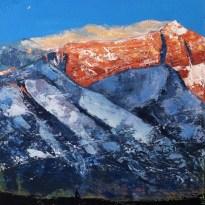«Meditation. Inner Tibet series», acrylic on canvas, palette knife, 60 x 60 cm, 北京 2016