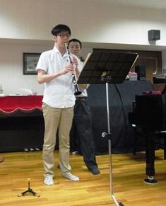 クラリネット演奏とアレクサンダーテクニーク