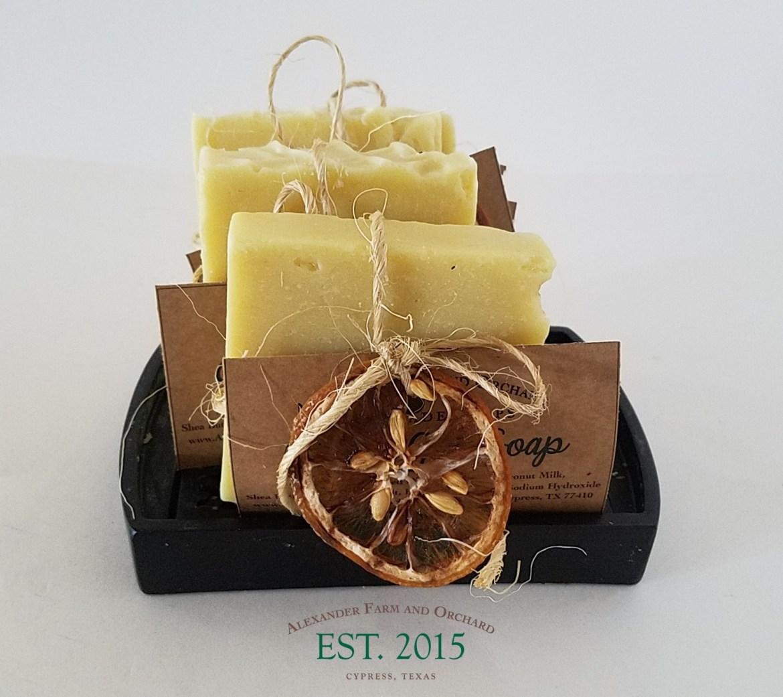 Golden Girl - Lemon Honey Soap