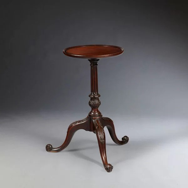 18th Century George III Mahogany Kettle Stand/Table