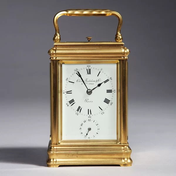 19th-Century Carriage Clock signed Charles Frodsham, London