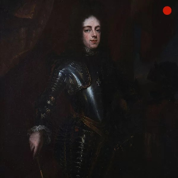 Portrait of a Nobleman standing small three-quarter length in Armour