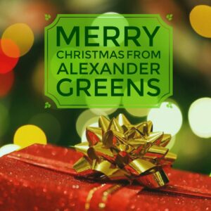 Merry Christmas from Alexander Greens