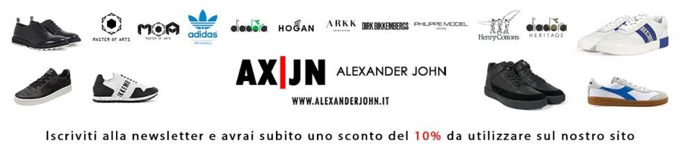 copertina negozio ebay alexander john shoes