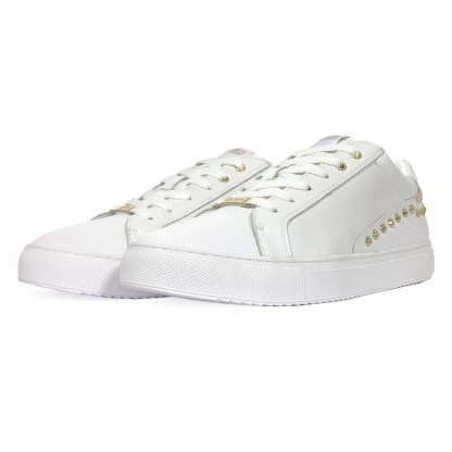 cesare_p_by_paciotti_james_shoes_mid_stivaletto_alto_sneakers_lacci_pelle_nero_saldi_low_price_alexander_john_shoes_napoli_vendita_on_line_ingrosso_james_sport_sneakers_pelle_bianco_borchie_oro
