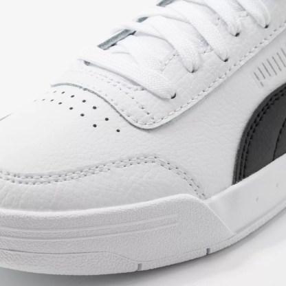 scarpe da uomo puma modello caracal bianco nero sneakers men alexander john shoes alexanderjohn.it