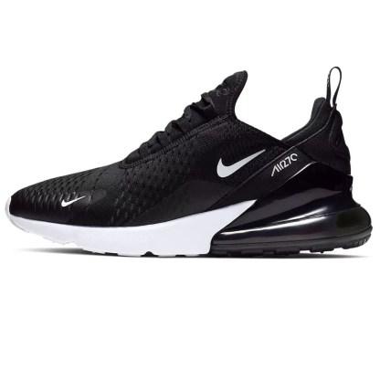 scarpe da uomo sneakers nike uomo air max 270 nero bianco black white AH8050-002