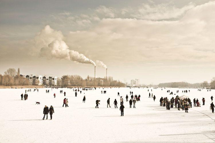 Berlin on ice, Fotograf Berlin Friedrichshain