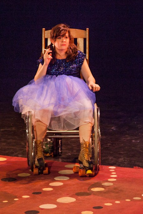 "Caitlin Morris in ""Peggy Pregnant Skates"""