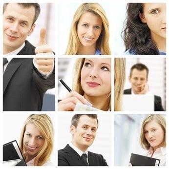 Geschäftsleute kennenlernen