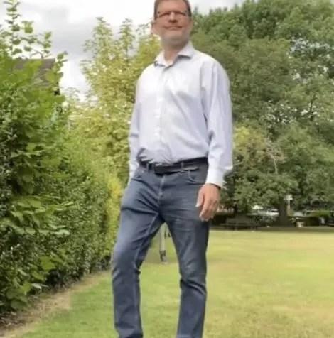 Walking and Rotating