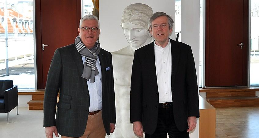 Mit Guy Montavon, Generalintendant vom Theater Erfurt
