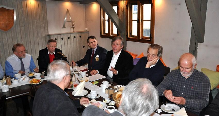 Frühstück mit dem Rotary-Club Erfurt Krämerbrücke
