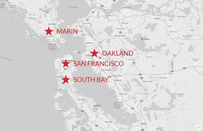 Tutoring-San-Francisco-Map