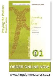 Praying the Psalms Volume One Flyer