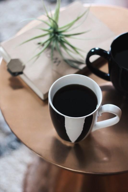 flaylay of coffee photo
