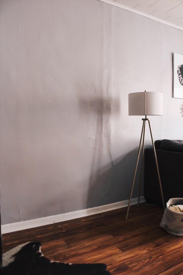 blank wall