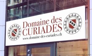 Bâche suspendue Domaine des Curiades