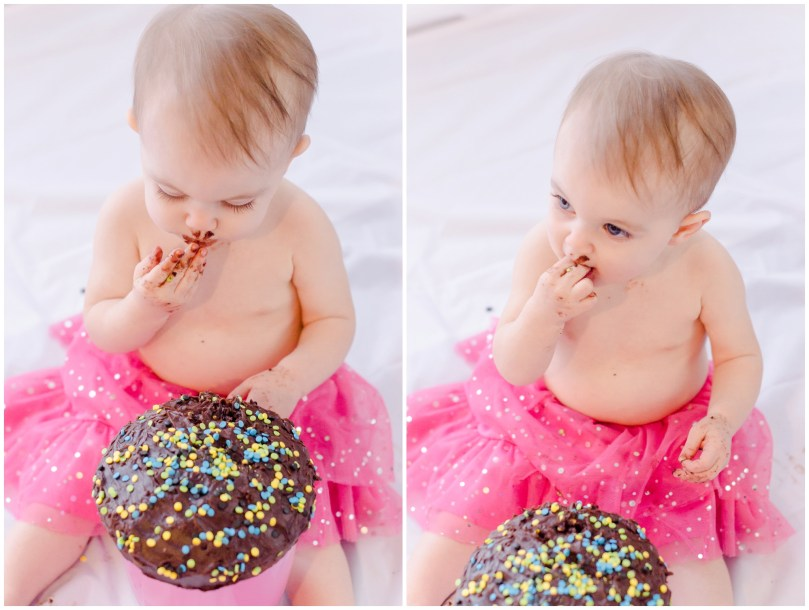 Alexandra Michelle Photography - Cora Cake Smash-64