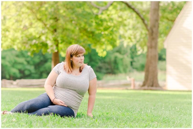 Alexandra Michelle Photography - Milestone 1 -Crump Park - Maternity Deihr-27
