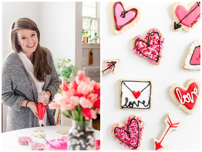 Alexandra Michelle Photography - 2019 - Self Portraits - Baltimore Maryland - Valentines Day Baking-10