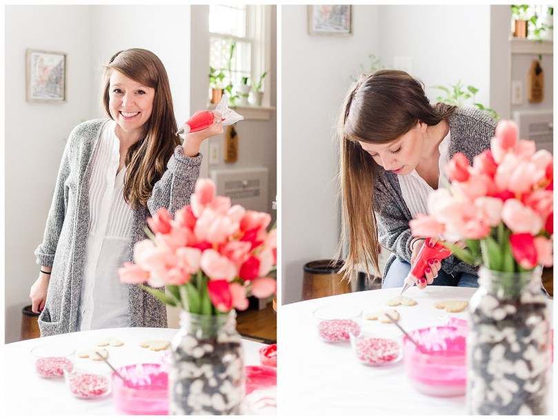 Alexandra Michelle Photography - 2019 - Self Portraits - Baltimore Maryland - Valentines Day Baking-9