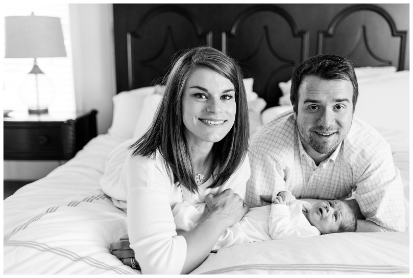 Alexandra Michelle Photography - November - 2018 - Virginia - Newborn - Autry BW-80