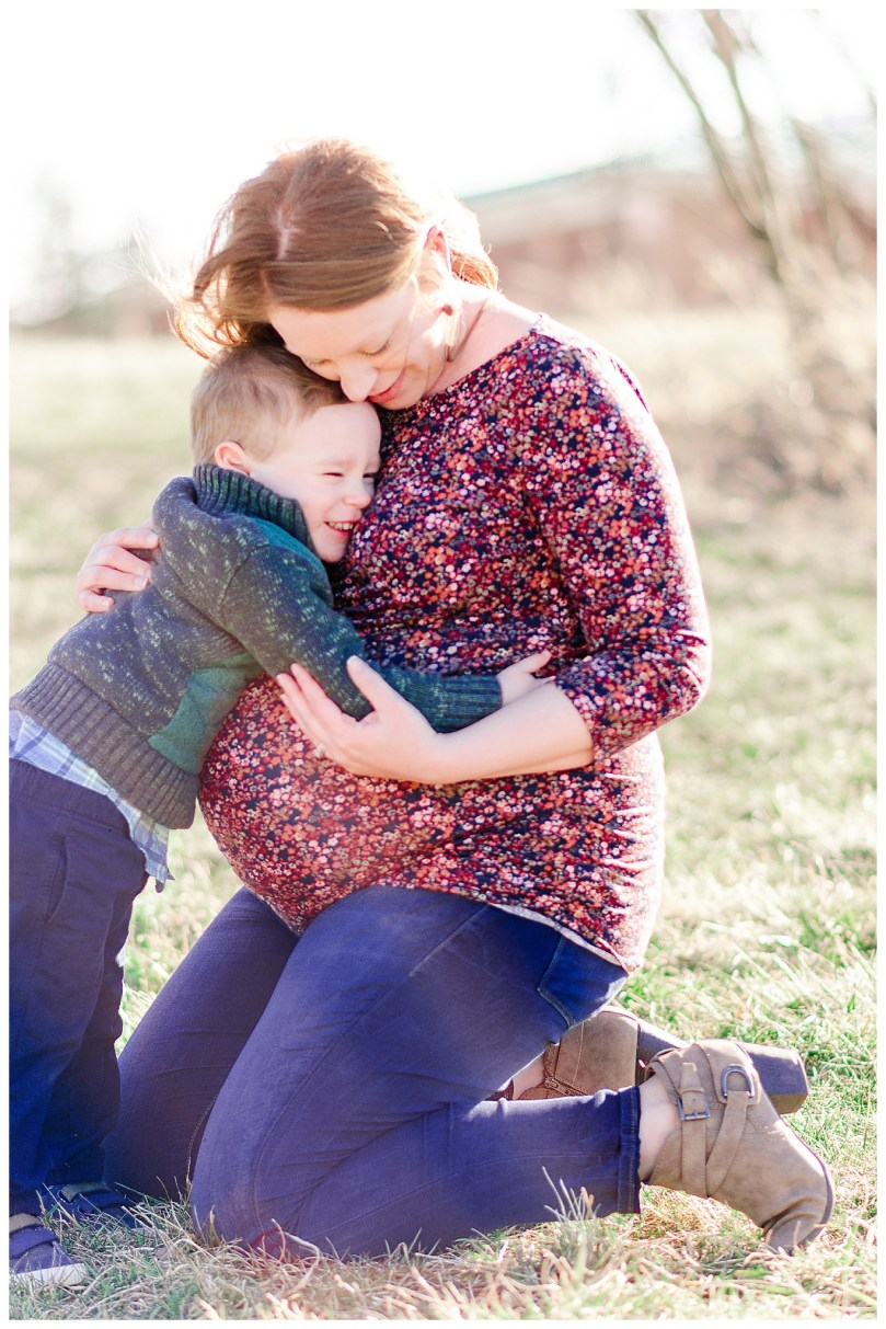 Alexandra Michelle Photography - Leesburg Virginia - Family - Maternity Portraits - Ida Lee Park - Spring 2019 - Perez-66