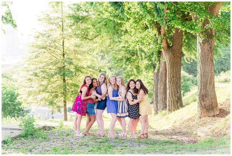 Alexandra Michelle Photography - Senior Best Friend Portraits - BFFs - Libby Hill Park - Richmond Virginia - Spring 2019-22