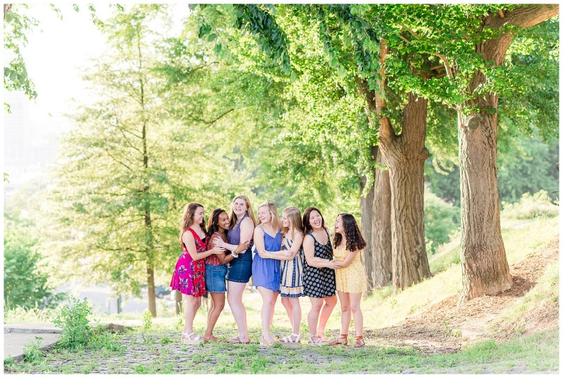Alexandra Michelle Photography - Senior Best Friend Portraits - BFFs - Libby Hill Park - Richmond Virginia - Spring 2019-23
