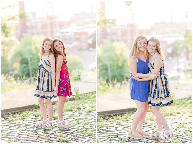 Alexandra Michelle Photography - Senior Best Friend Portraits - BFFs - Libby Hill Park - Richmond Virginia - Spring 2019-34